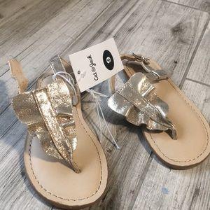 NWT Toddler girl gold scandal